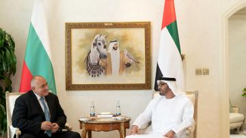 Борисов обсъди икономическото сътрудничество с престолонаследника на Абу Даби
