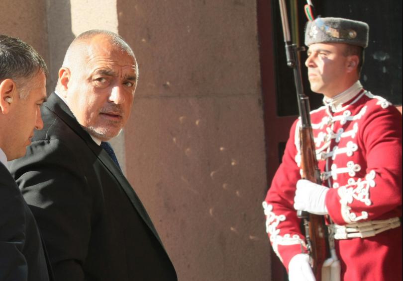 Премиерът Бойко Борисов пристигна в президентството, предаде Агенция