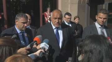 Борисов: Категорични сме, че военната операция в Сирия трябва да спре