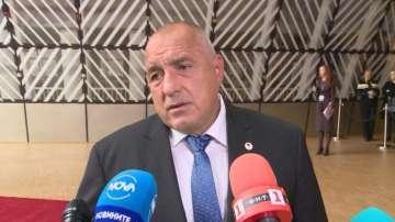 Борисов е посъветвал Заев да не подава оставка
