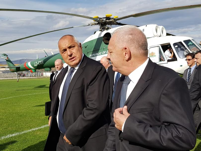 Борисов пристигна в Сърбия за откриването на участък от Коридор №10