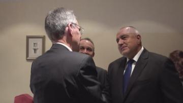 Борисов изрази притеснението си от разделението в Северна Македония по темата ЕС