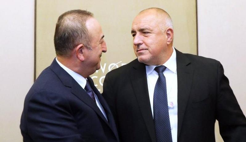Министър-председателят Бойко Борисов разговаря с министъра на външните работи на