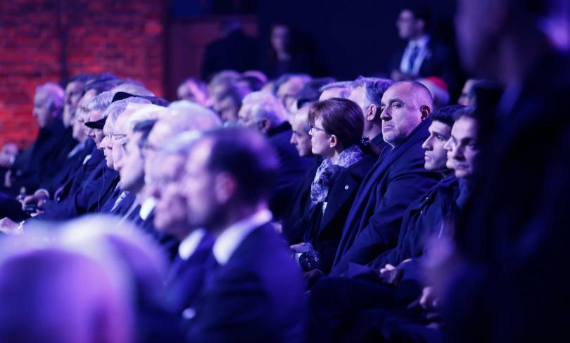 Министър-председателят Бойко Борисов почете паметта на жертвите на Холокоста на
