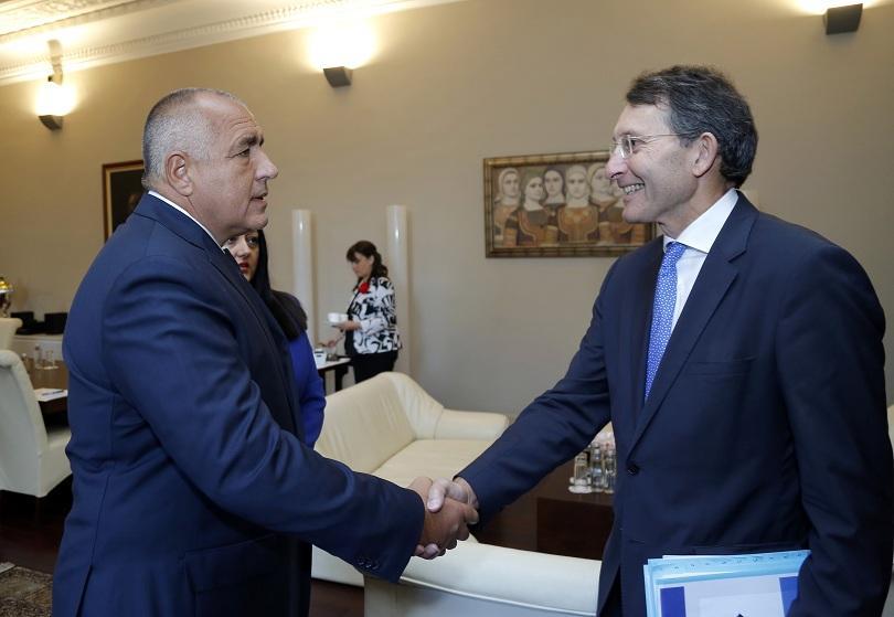 Министър-председателят Бойко Борисов се срещна с  генералния секретар на Европейската комисия Александър Италианер
