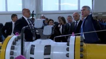 "Борисов откри част от разширеното трасе на ""Балкански поток"""