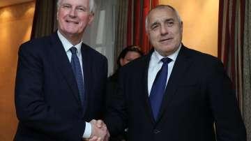 На форума в Мюнхен: Премиерът Борисов се срещна с главния преговарящ за Брекзит