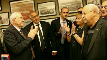 Премиерът Бойко Борисов се срещна с българската общност в Тел Авив