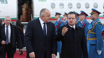 Премиерът Борисов е на посещение в Сърбия