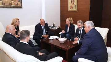 Премиерът се срещна с президента на Международната федерация по борба