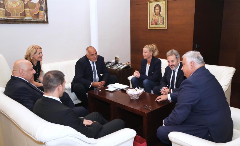 Министър-председателят Бойко Борисов проведе среща с президента на Международната федерация