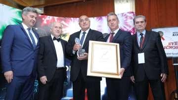 Бойко Борисов получи Златен плакет - Европейска личност на годината в Сараево