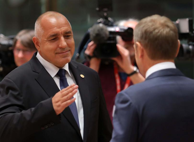 На срещата на върха в Брюксел държавните и правителствени ръководители