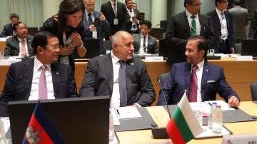 Премиерът Борисов участва в срещата на върха Азия-Европа