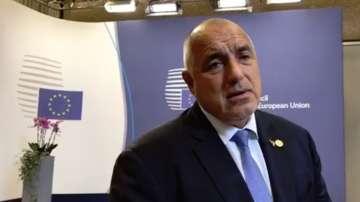 Борисов за думите на Симеонов: Мога само да се извиня от името на правителството