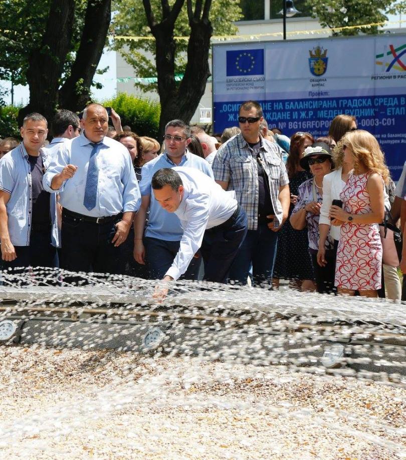 снимка 1 Борисов обеща 4-лентов път Бургас-Слънчев бряг догодина, ако няма жалби