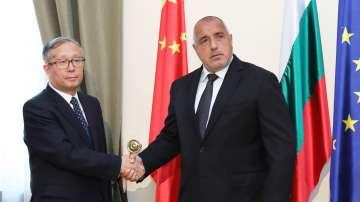 Борисов: Надявам се да издигнем отношенията си с Китай на по-високо ниво