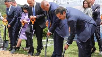 Борисов и Ципрас дадоха старт на строежа на газовата връзка Гърция-България