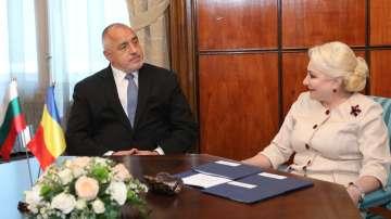 Започна срещата на Бойко Борисов с румънския премиер Виорика Данчила