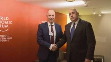 Продължава участието на премиера Борисов в Световния икономически форум в Давос