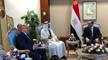 Премиерът Борисов се срещна с президента на Египет