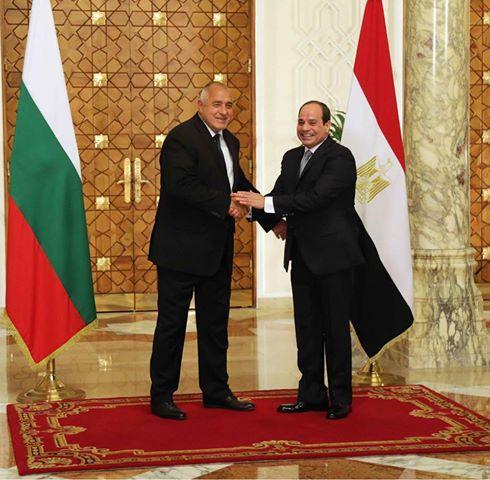 снимка 2 Премиерът Борисов се срещна с президента на Египет
