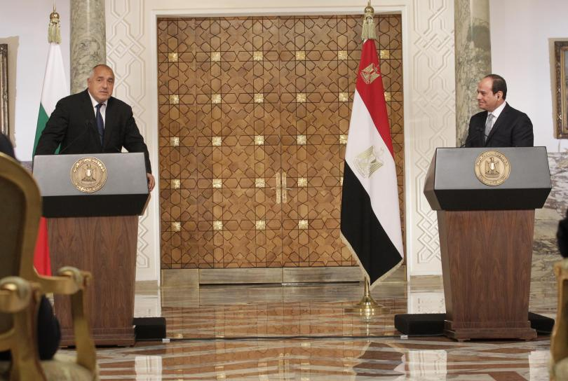 снимка 3 Премиерът Борисов се срещна с президента на Египет