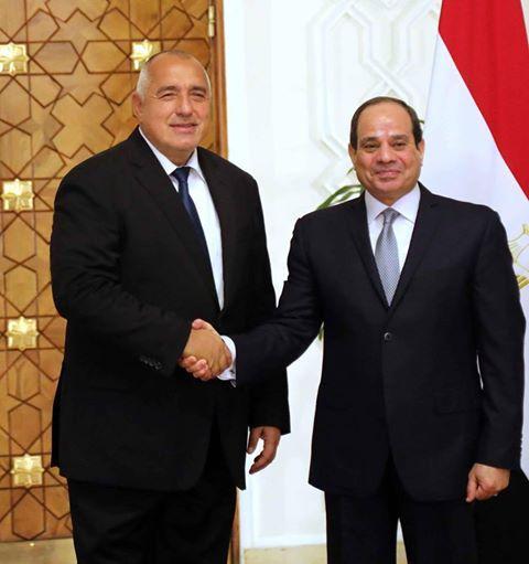 снимка 1 Премиерът Борисов се срещна с президента на Египет