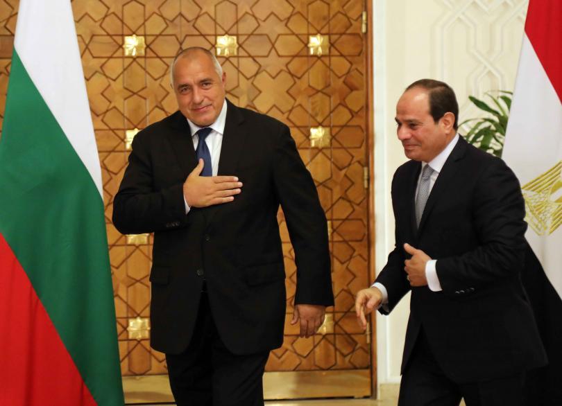 снимка 5 Премиерът Борисов се срещна с президента на Египет