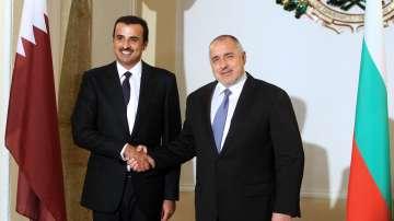 Бойко Борисов и емирът на Катар: Трябва да работим за повече инвестиции