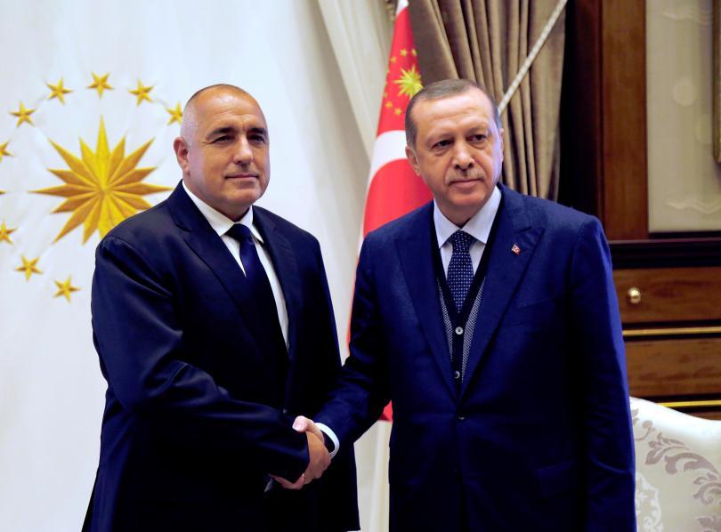 Премиерът Бойко Борисов проведе телефонен разговор с президента на Турция