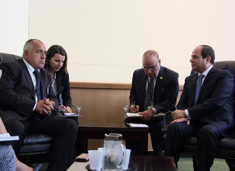 Премиерът: Разглеждаме Египет като потенциален доставчик на природен газ