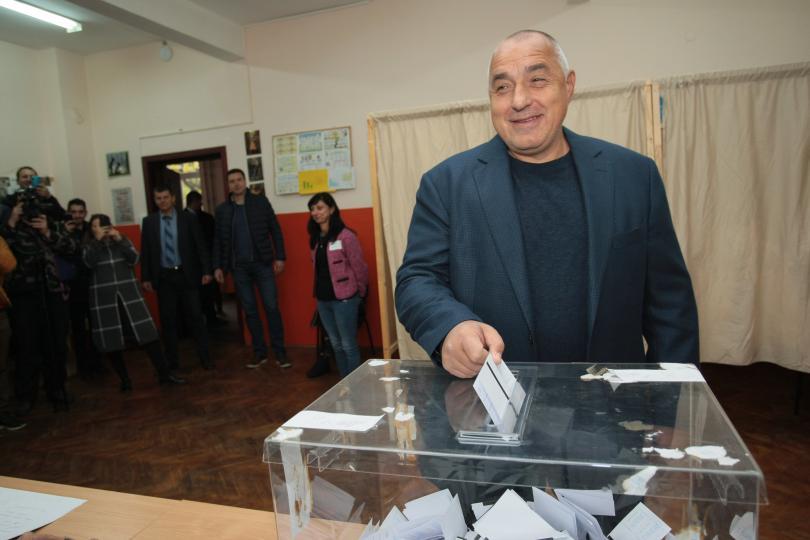 борисов гласувах софия продължи расте все хубава хубава