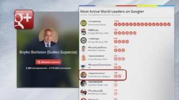 Бойко Борисов е сред най-активните политици в Гугъл +