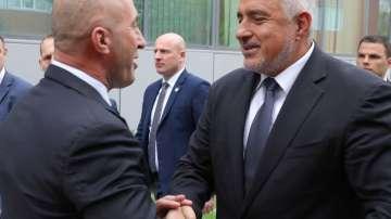 Премиерът Борисов на посещение в Косово