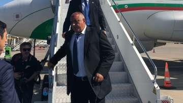 Премиерът Бойко Борисов пристигна на работно посещение в Измир