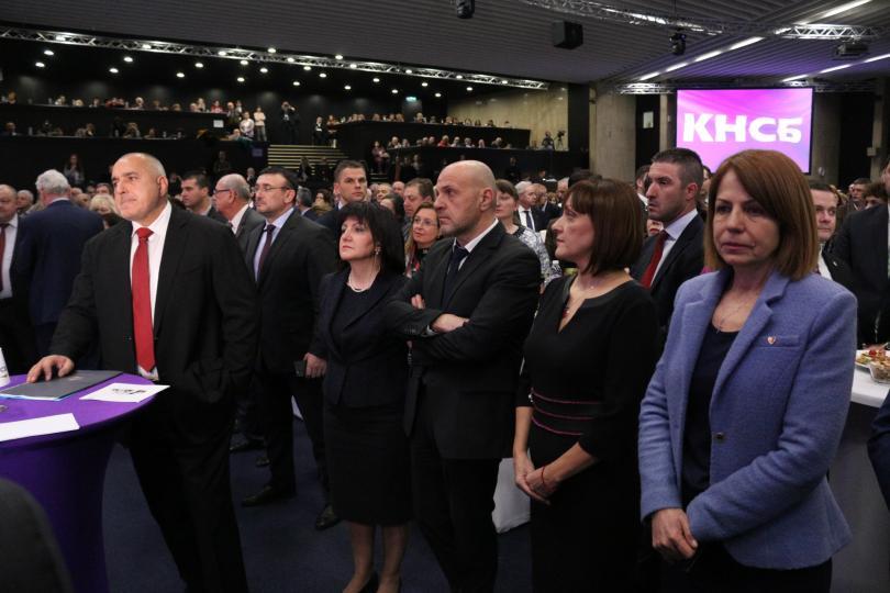 снимка 8 Борисов и Радев си стиснаха ръцете (СНИМКИ)