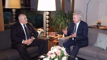 Премиерът Борисов се срещна с шефа на Лукойл Вагит Алекперов