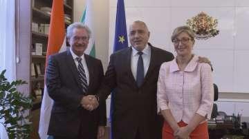Премиерът Борисов се срещна с външния министър на Люксембург