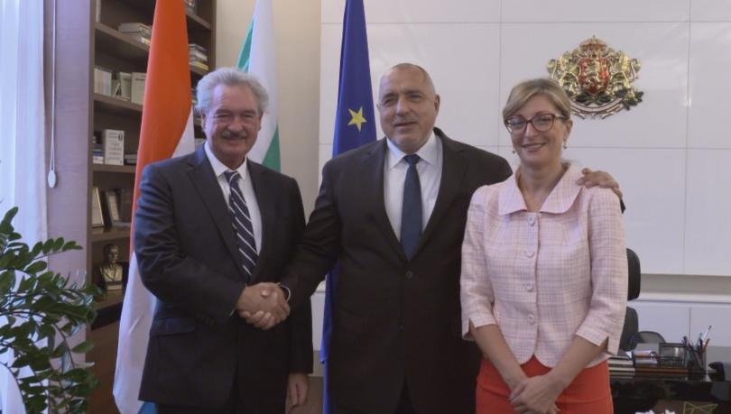 Премиерът Бойко Борисов се срещна с външния министър на Люксембург