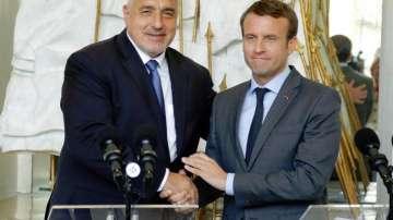 Макрон обеща на Борисов подкрепа за приемането ни в еврозоната и Шенген