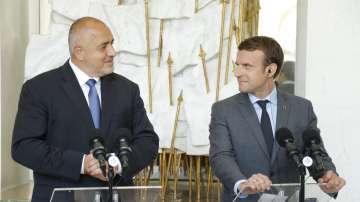 След срещата Борисов-Макрон: Френският президент ще посети България през август