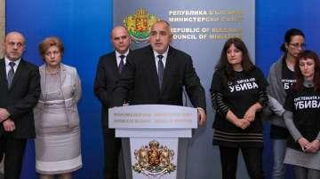 Бойко Борисов на извънредна среща с майките на деца с увреждания
