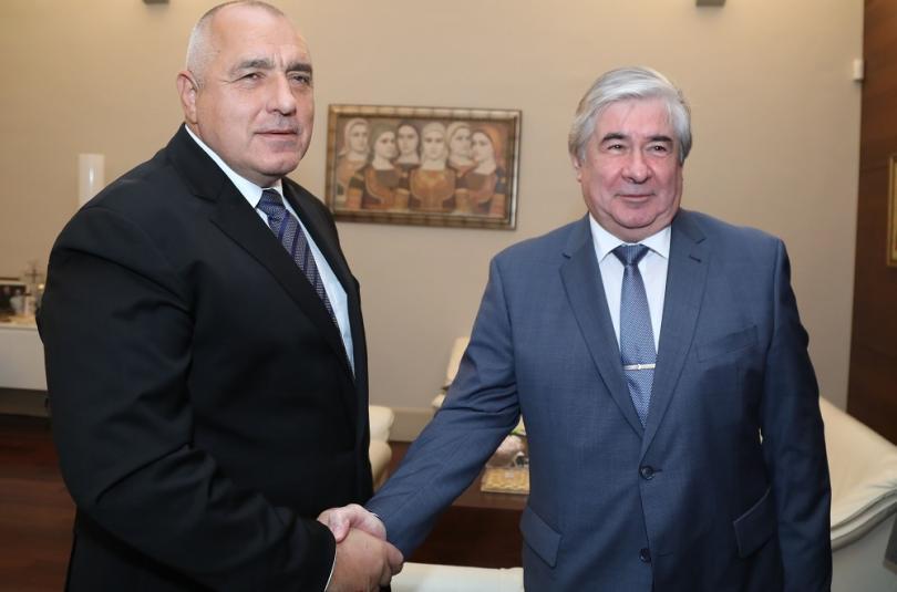 Министър-председателят Бойко Борисов се срещна с посланика на Руската федерация