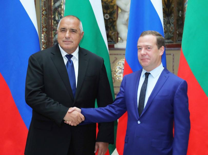 снимка 1 Борисов и Медведев обсъдиха задълбочаване на икономическите отношения