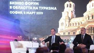 Втори ден от визитата на Медведев в България