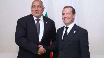 "АЕЦ Белене и ""Балкански поток"" - акцент на срещата Борисов - Медведев"