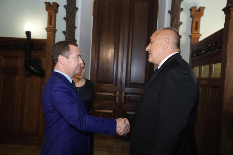 снимка 2 Борисов и Медведев обсъдиха задълбочаване на икономическите отношения