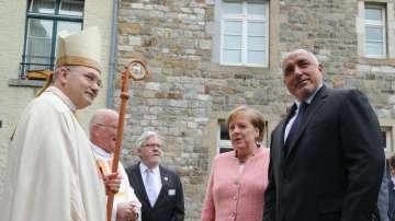 Премиерът Борисов участва в Понтификалната служба в Катедралата на гр. Аахен