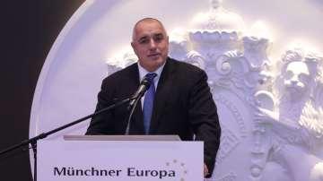 Бойко Борисов в Мюнхен: Време е за решение за членството на България в Шенген